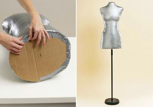 Как сделать манекен в домашних условиях?
